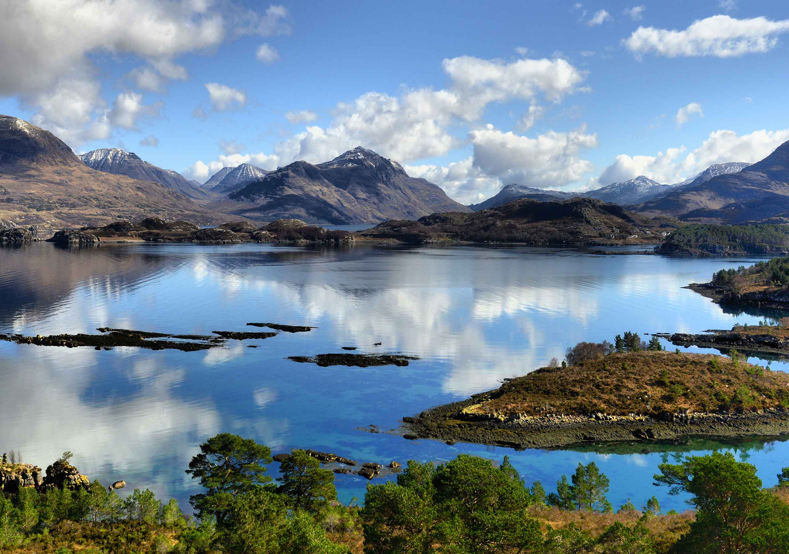 Loch Carron, Scottish highland tours,