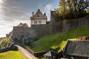 The back of Stirling Castle