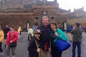 Tours of Scotland Family Happy